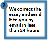 practice correcting essays Editing & revising paragraphs 1: the improving paragraphs section of a standardized test presents a draft of a short essay the tips and practice questions.